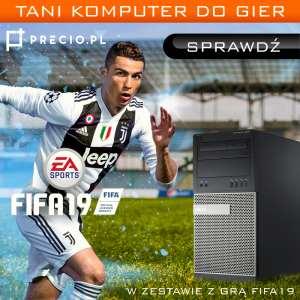 Komputer do gier Dell 9020 i5 8GB GTX1050Ti FIFA19