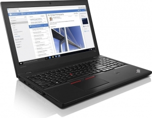 Notebook LENOVO T560 i7-6600U 8GB 256GB W10P