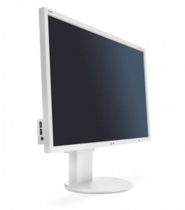 "Monitor LED 24"" NEC EA243WM WHITE"